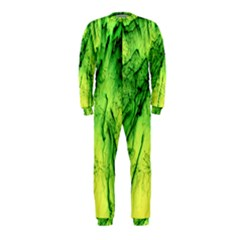 Special Fireworks, Green OnePiece Jumpsuit (Kids)
