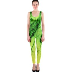 Special Fireworks, Green Onepiece Catsuits