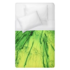 Special Fireworks, Green Duvet Cover Single Side (single Size)