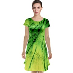 Special Fireworks, Green Cap Sleeve Nightdresses