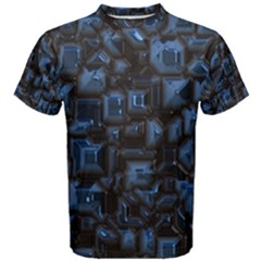 Metalart 23 Blue Men s Cotton Tees