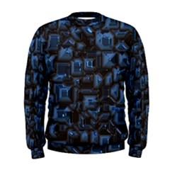 Metalart 23 Blue Men s Sweatshirts