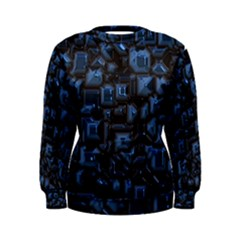Metalart 23 Blue Women s Sweatshirts