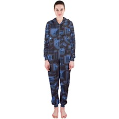 Metalart 23 Blue Hooded Jumpsuit (ladies)