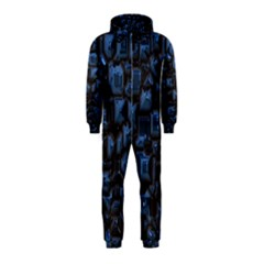 Metalart 23 Blue Hooded Jumpsuit (kids)
