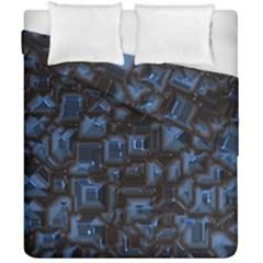 Metalart 23 Blue Duvet Cover (double Size)