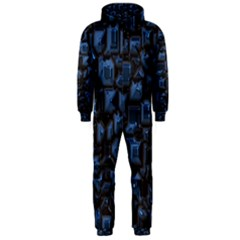 Metalart 23 Blue Hooded Jumpsuit (Men)