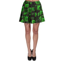 Metalart 23 Green Skater Skirts