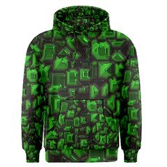 Metalart 23 Green Men s Pullover Hoodies