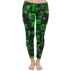 Metalart 23 Green Winter Leggings