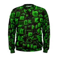 Metalart 23 Green Men s Sweatshirts