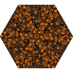 Metalart 23 Orange Mini Folding Umbrellas