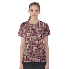 Metalart 23 Peach Women s Cotton Tees