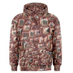 Metalart 23 Peach Men s Pullover Hoodies