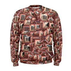 Metalart 23 Peach Men s Sweatshirts