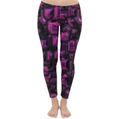 Metalart 23 Pink Winter Leggings
