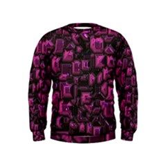 Metalart 23 Pink Boys  Sweatshirts