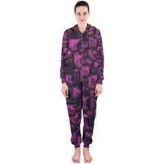 Metalart 23 Pink Hooded Jumpsuit (Ladies)