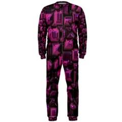 Metalart 23 Pink OnePiece Jumpsuit (Men)