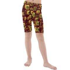 Metalart 23 Red Yellow Kid s swimwear