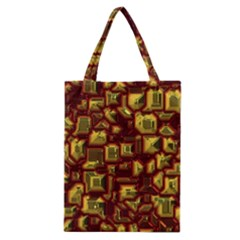 Metalart 23 Red Yellow Classic Tote Bags