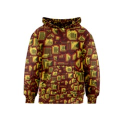 Metalart 23 Red Yellow Kid s Pullover Hoodies