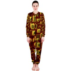 Metalart 23 Red Yellow OnePiece Jumpsuit (Ladies)