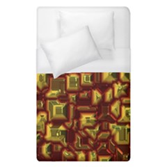 Metalart 23 Red Yellow Duvet Cover Single Side (single Size)