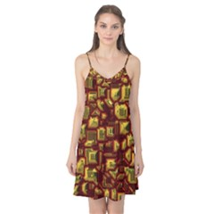 Metalart 23 Red Yellow Camis Nightgown