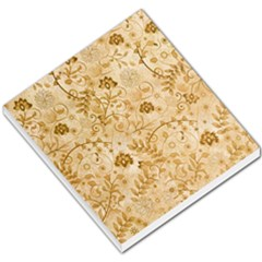 Flower Pattern In Soft  Colors Small Memo Pads