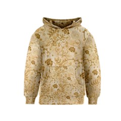 Flower Pattern In Soft  Colors Kid s Pullover Hoodies