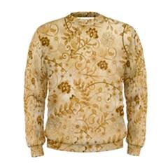 Flower Pattern In Soft  Colors Men s Sweatshirts