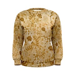 Flower Pattern In Soft  Colors Women s Sweatshirts