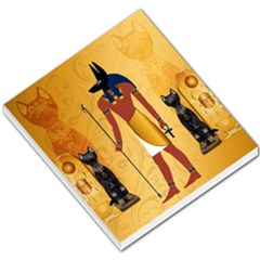 Anubis, Ancient Egyptian God Of The Dead Rituals  Small Memo Pads