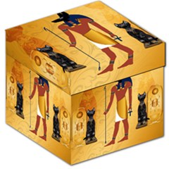 Anubis, Ancient Egyptian God Of The Dead Rituals  Storage Stool 12