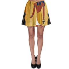 Anubis, Ancient Egyptian God Of The Dead Rituals  Skater Skirts