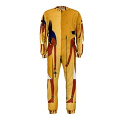 Anubis, Ancient Egyptian God Of The Dead Rituals  OnePiece Jumpsuit (Kids)