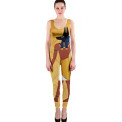 Anubis, Ancient Egyptian God Of The Dead Rituals  OnePiece Catsuits