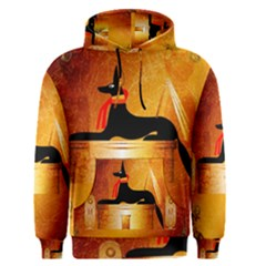 Anubis, Ancient Egyptian God Of The Dead Rituals  Men s Pullover Hoodies