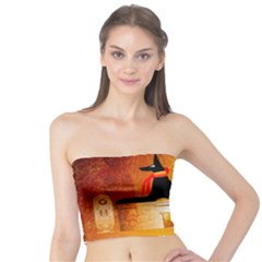 Anubis, Ancient Egyptian God Of The Dead Rituals  Women s Tube Tops