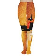 Anubis, Ancient Egyptian God Of The Dead Rituals  Women s Tights