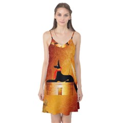 Anubis, Ancient Egyptian God Of The Dead Rituals  Camis Nightgown