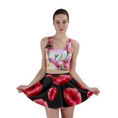 Sassy Lips  Mini Skirts