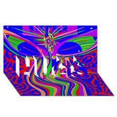 Transcendence Evolution HUGS 3D Greeting Card (8x4)