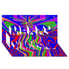 Transcendence Evolution Merry Xmas 3D Greeting Card (8x4)