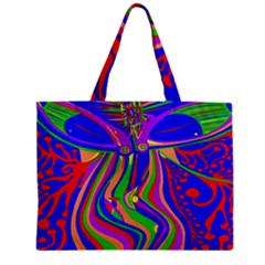 Transcendence Evolution Zipper Tiny Tote Bags