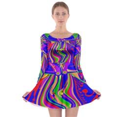 Transcendence Evolution Long Sleeve Skater Dress