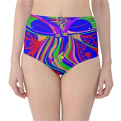 Transcendence Evolution High-Waist Bikini Bottoms