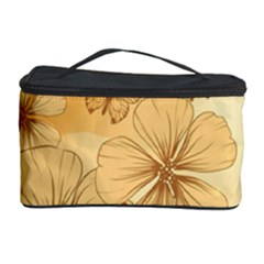 Wonderful Flowers With Butterflies Cosmetic Storage Cases