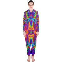 Abstract 1 Hooded Jumpsuit (Ladies)